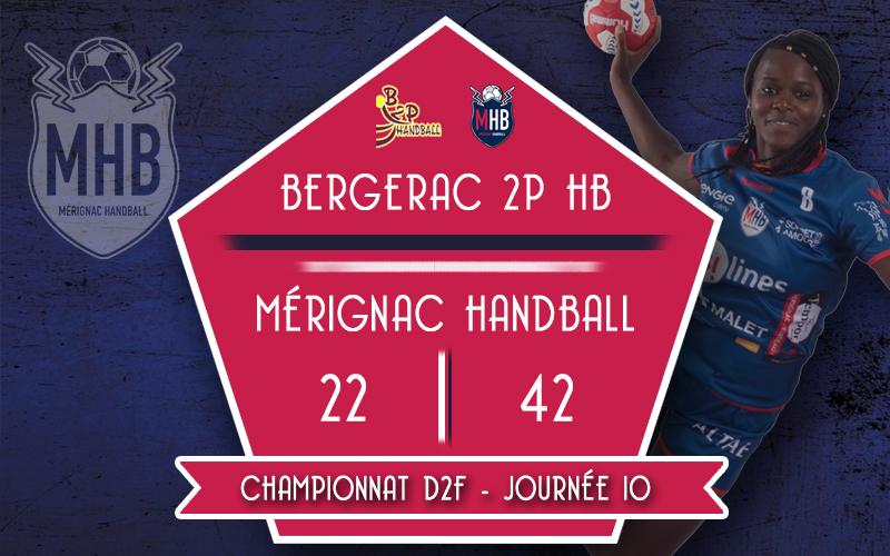 Bergerac 2P HB – Mérignac Handball