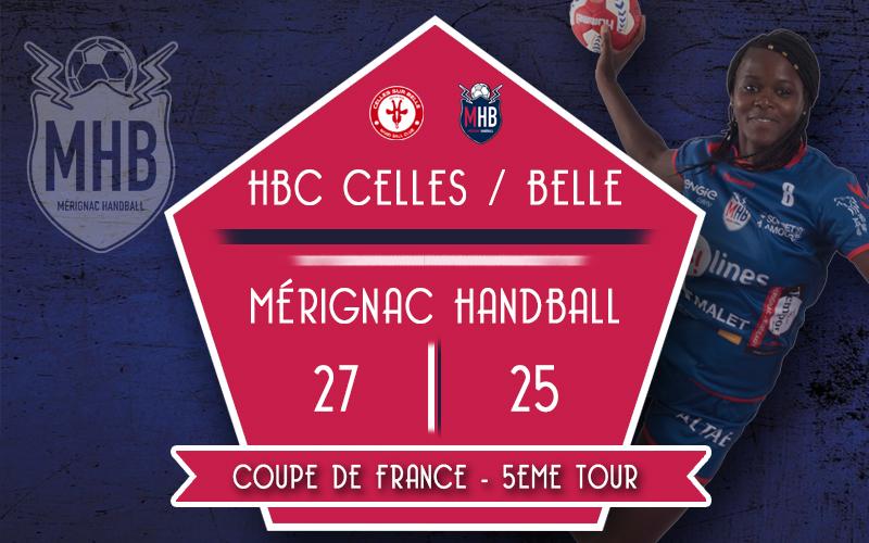 HBC Celles/Belle – Mérignac Handball