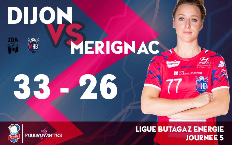 JDA DIJON HANDBALL – Mérignac Handball