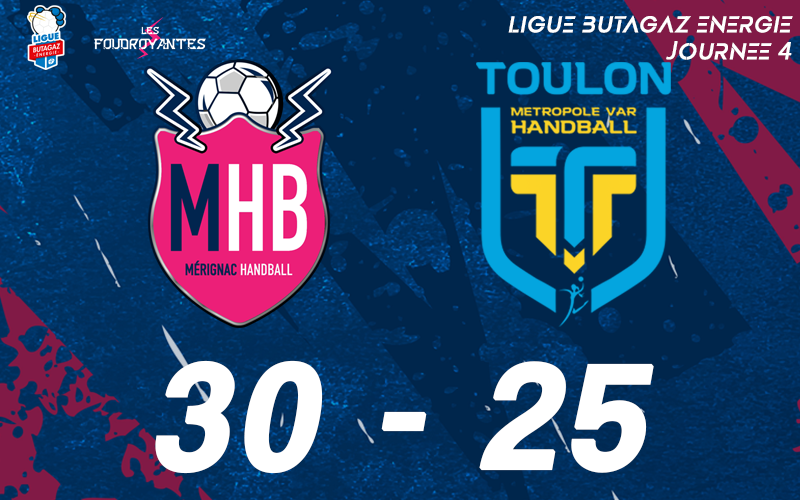 Mérignac – Toulon Métropole Var Handball