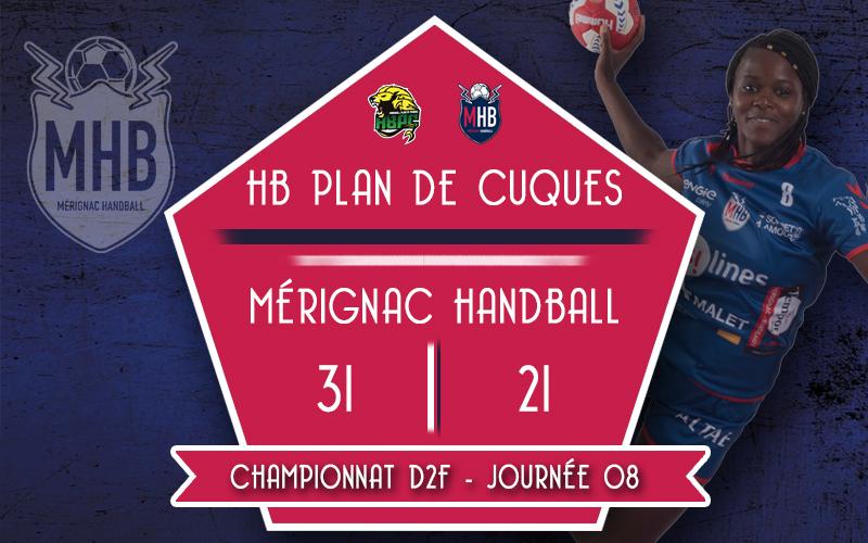 HB Plan de Cuques – Mérignac Handball