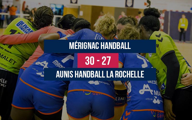 Mérignac Handball – Aunis HB La Rochelle