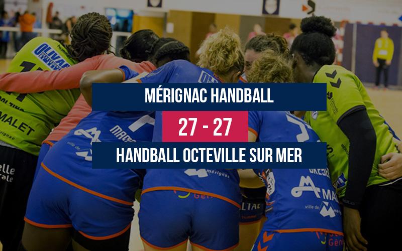 Mérignac Handball – HB Octeville sur Mer