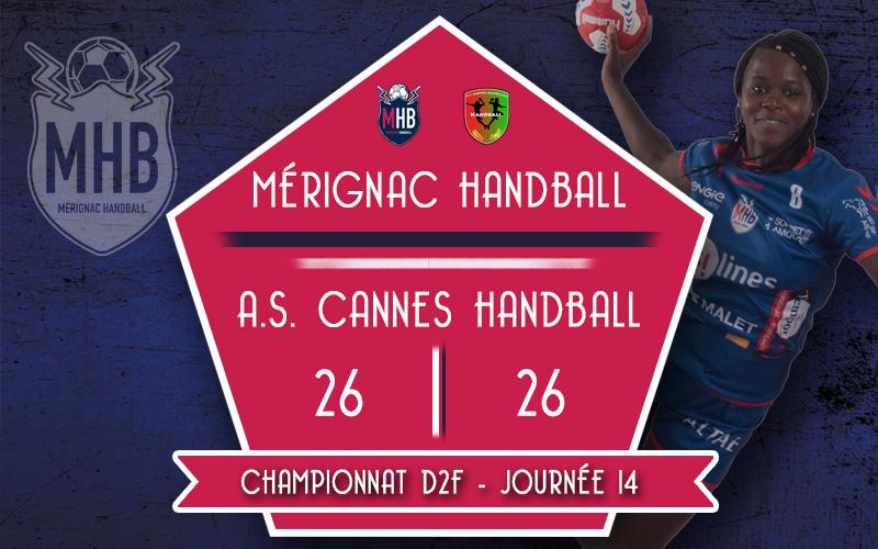 Mérignac Handball – A.S.Cannes Handball