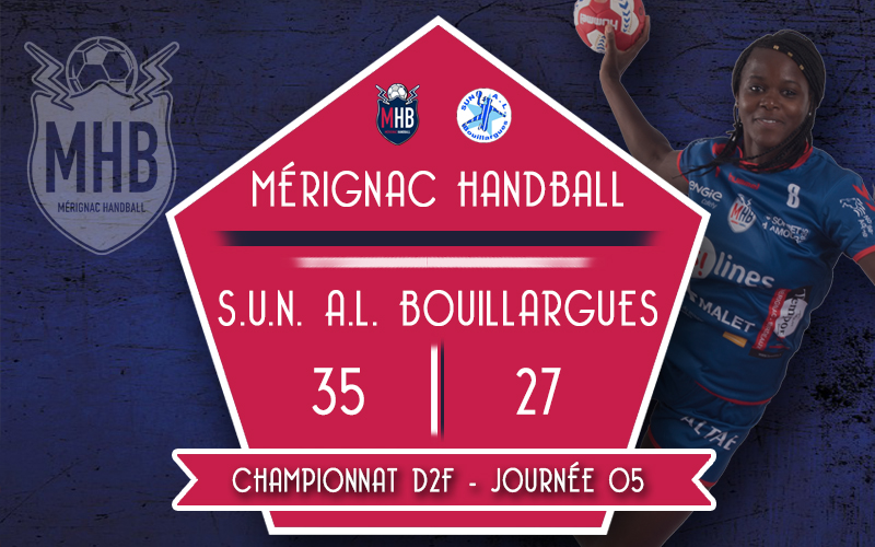 Mérignac Handball – SUN AL Bouillargues