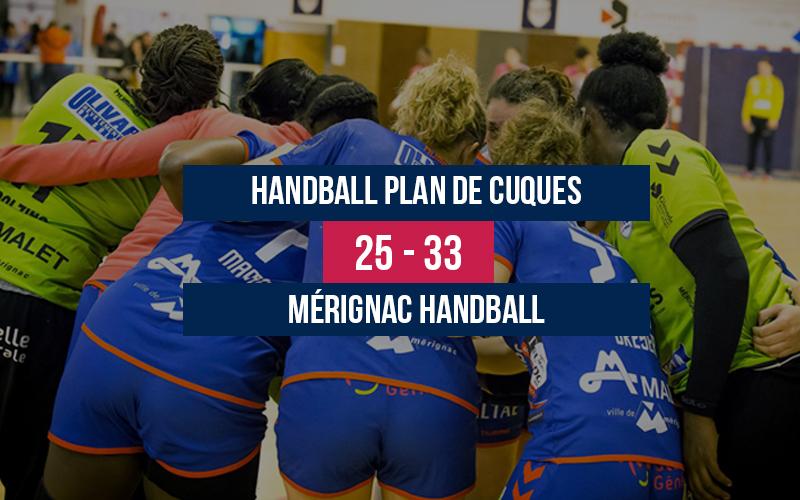 Handball Plan de Cuques – Mérignac Handball