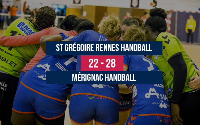 St Grégoire Rennes – Mérignac Handball