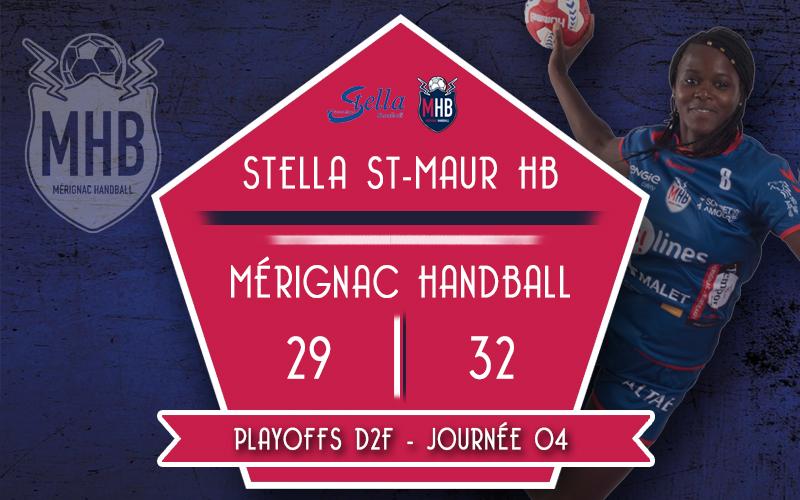 Stella St-Maur – Mérignac Handball