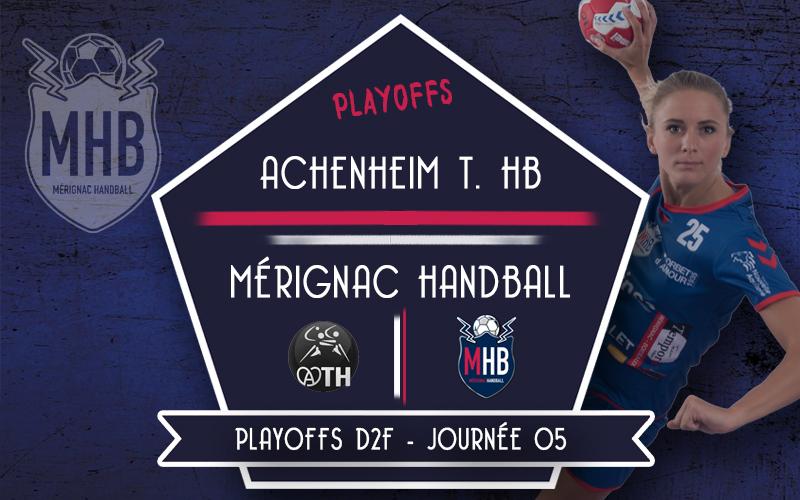Achenheim T. Handball – Mérignac Handball