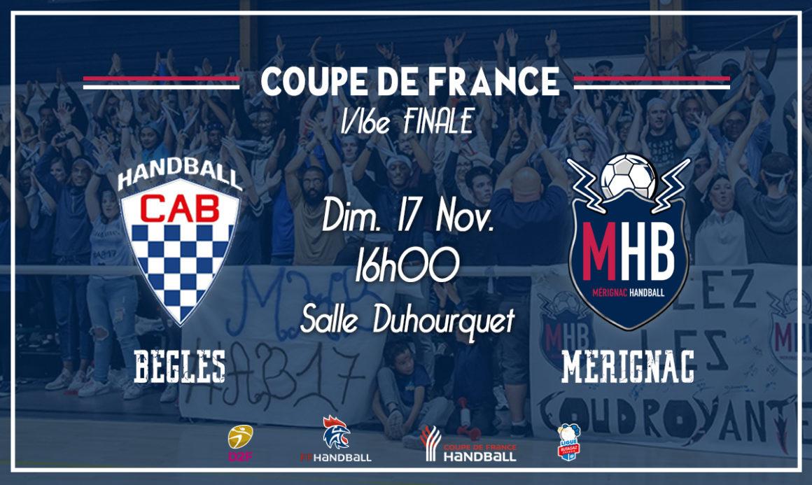CA Béglais – Mérignac Handball