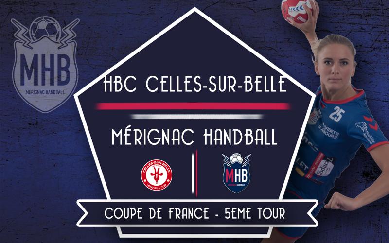 HB Celles sur Belle – Mérignac Handball