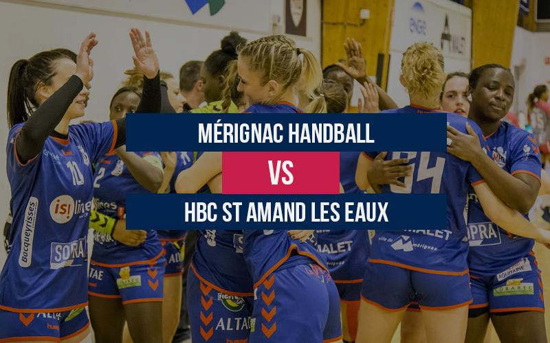 Mérignac Handball – HBC St Amand les Eaux