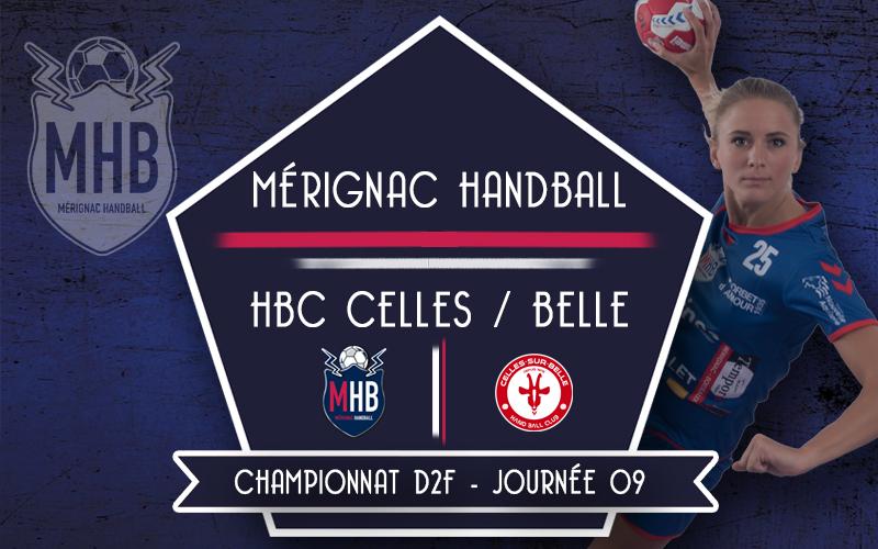 Mérignac Handball – HBC Celles sur Belle