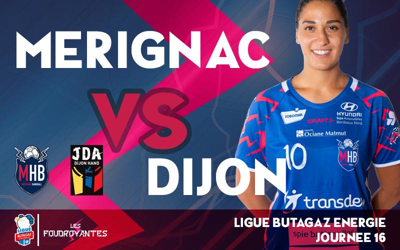 Mérignac – Dijon
