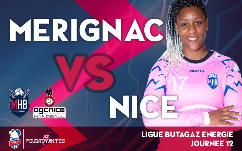 Mérignac Handball – OGC Nice Côte d'Azur Handball