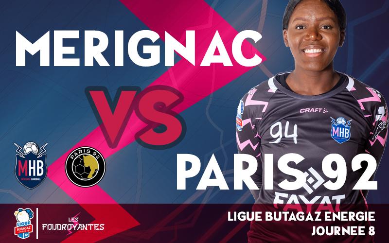 Mérignac Handball – Paris 92