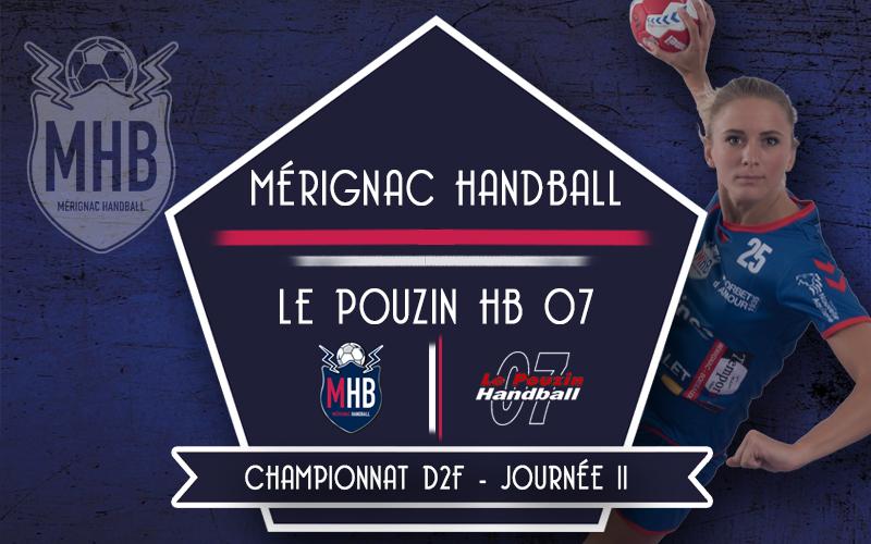Mérignac Handball – Le Pouzin 07 HB