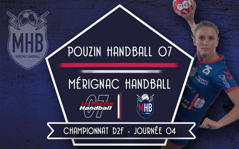Pouzin Handball – Mérignac Handball