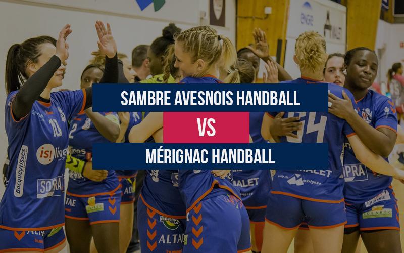 Sambre Avesnois – Mérignac Handball