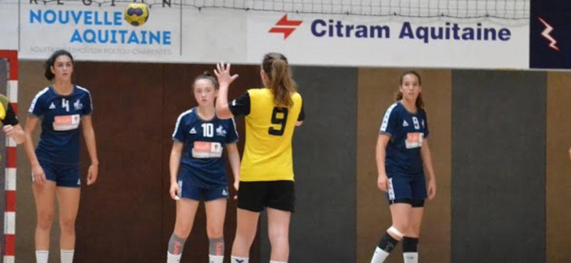Double victoire pour les -15 ans filles