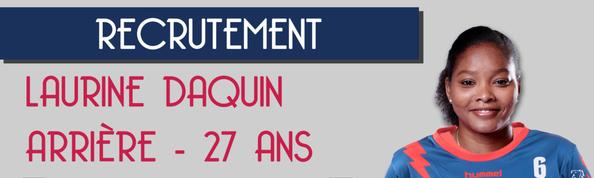 Laurine Daquin signe au Mérignac Handball