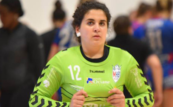 Célia Moris: sa dernière au Mérignac Handball