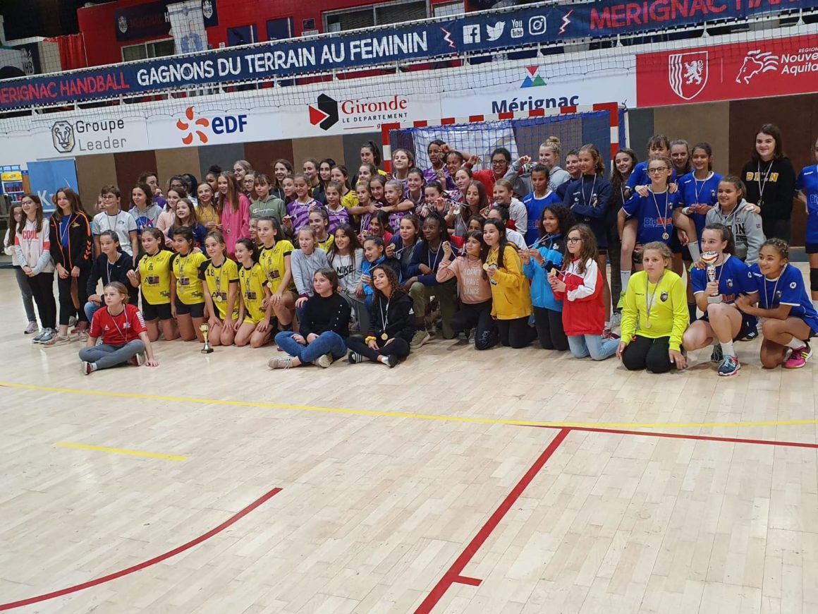 Lescar brille au tournoi national des -13F à Mérignac