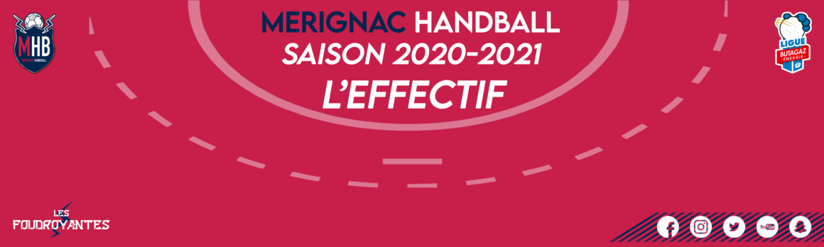 Point sur l'effectif 2020/2021
