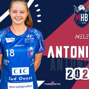 Nele Antonissen, deuxième buteuse de D2F, s'engage au MHB