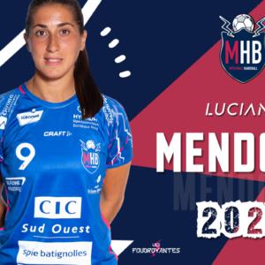 Luciana Mendoza, internationale Argentine, signe au MHB