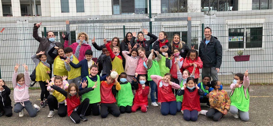 Les Foudroyantes en visite à l'Ecole Jules Ferry