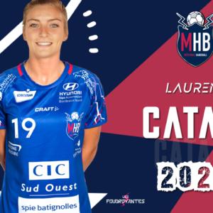 Laurène Catani, demi-centre de Brest, s'engage au MHB