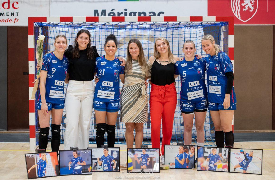 Départs, retraites… Elles quittent le Mérignac Handball