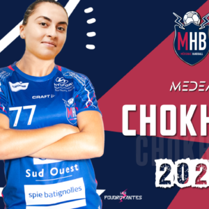 Medea Chokheli s'engage au Mérignac Handball
