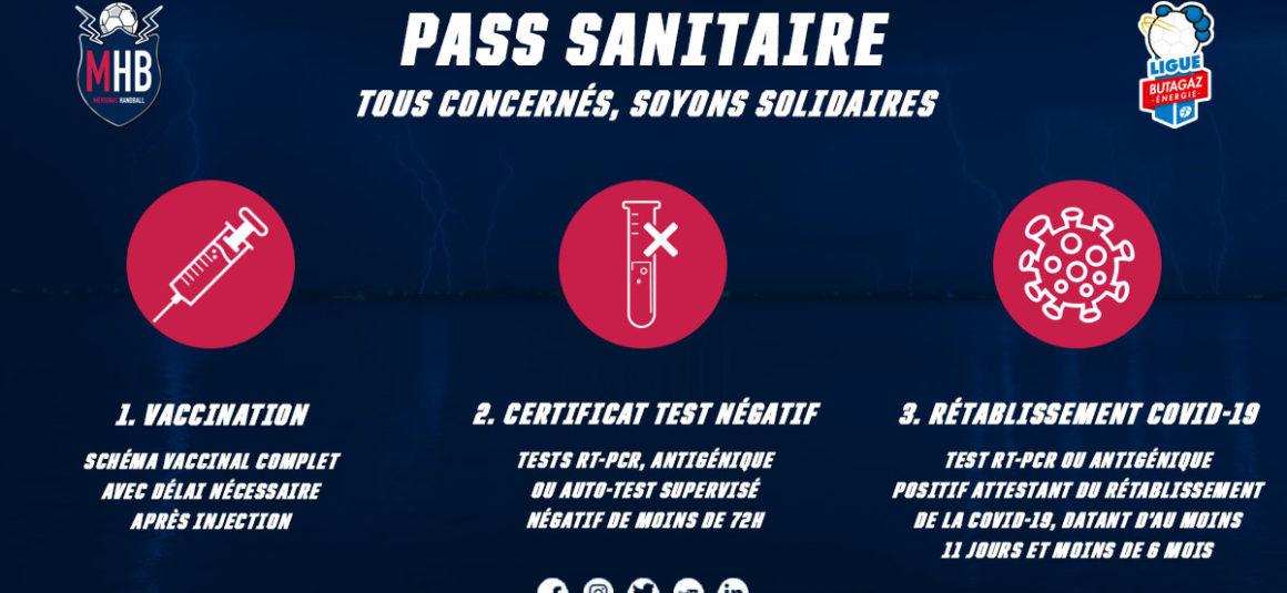 Pass Sanitaire en vigueur