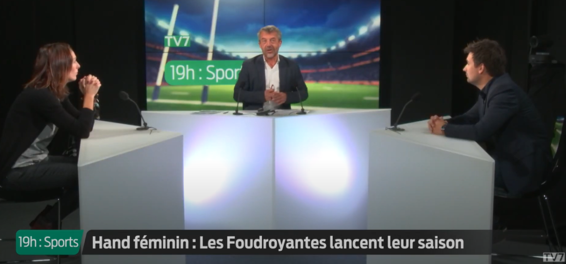 Audrey Deroin et Raphaël Benedetto en interview sur TV7